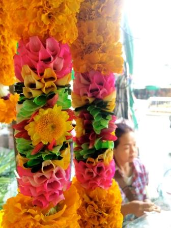 Detailed marigold flowers - Bangkok
