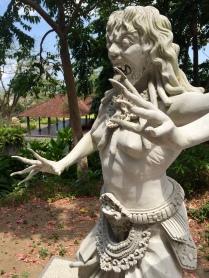 Statue in Tirta Gangga