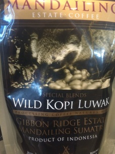 Packaged Luwak Coffee