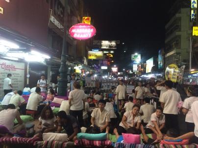 Massive foot massage