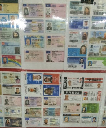 Fake ID cards/licenses - $10.00