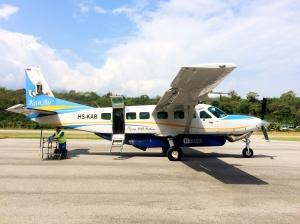 Plane back Chiang Mai