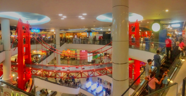 Terminal 21 Mall bridge