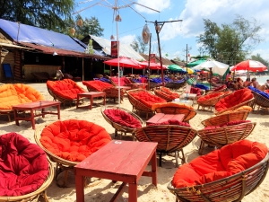 Sihanoukville beach front