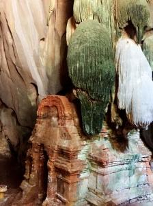 Shrine in cave of Sasear