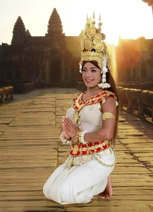 Khmer Traditional dancer
