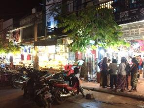 NIght time in Siem Reap