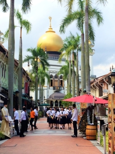 Sultan Mosque in Arab district