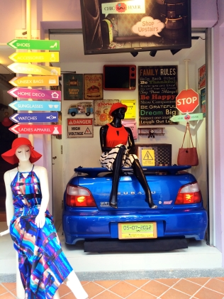 Haji Lane - Store front