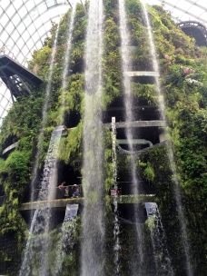 Largest indoor waterfall