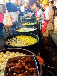 Dim Sum vendor at street market