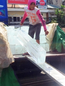 Ice truck - Phnom Penh