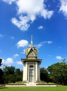 Memorial at Killing Fields