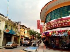 A street in Georgetown Penang