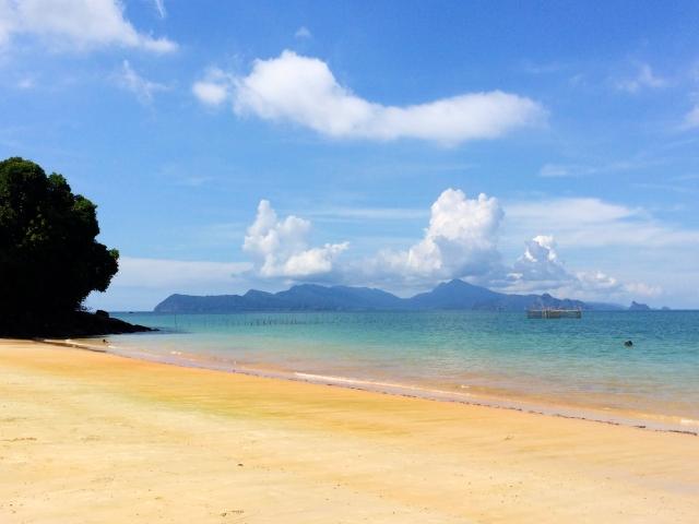Pantai Pasir Tengkorak beach