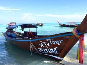Boat in Koh Lipe