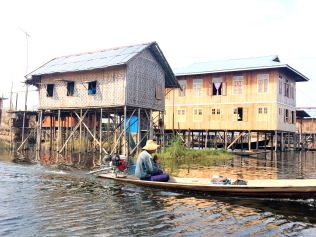 Nampan floating village