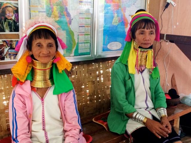 Kayan Lahwi tribal women