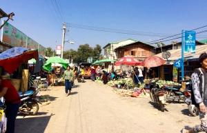 Town of Nyaung Shwe
