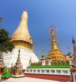 Pagoda - Dala, Burma