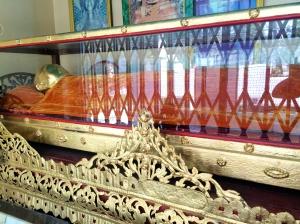 Mummified Monk - Dala, Burma