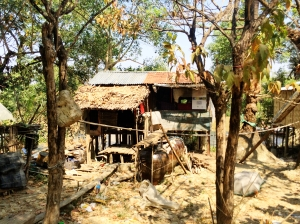 Shack house in Dala