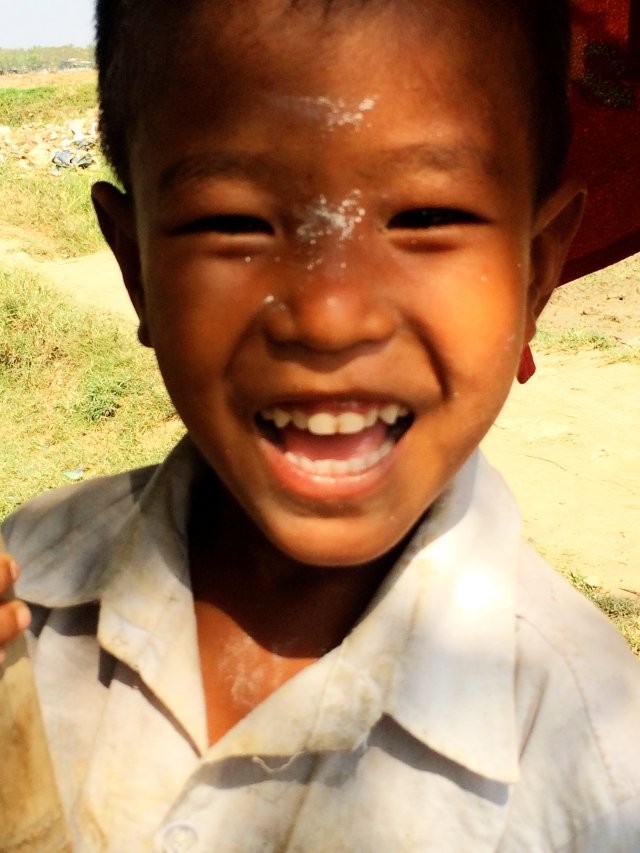 Kid - Bamboo Village - Dala, Burma