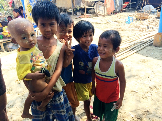 Bamboo Village - Dala, Burma