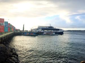 Ferry pier in Kalibo