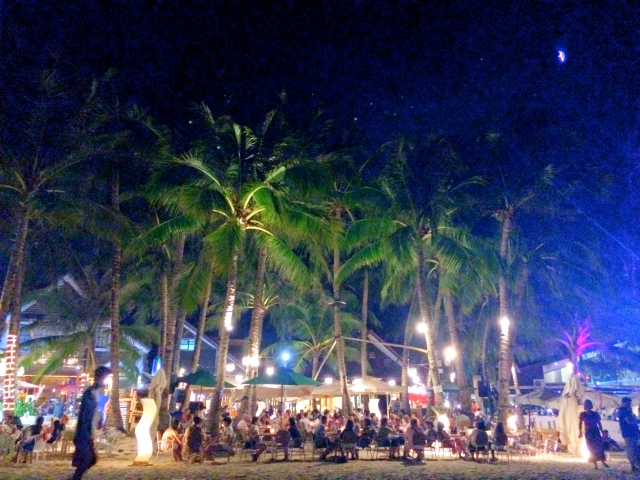 Nighttime on White Beach