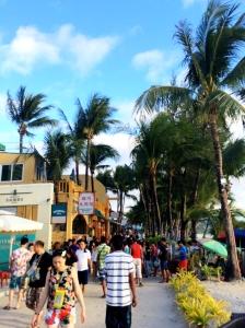Station 2 on Beachfront Path- Boracay