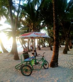 Pediicab on White Beach