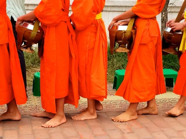 Monk feet