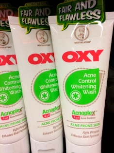 Acne control whitening wash