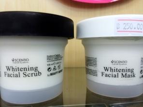 Scentio - Whitening Facial Scrub