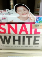 Snail White - snail secretion
