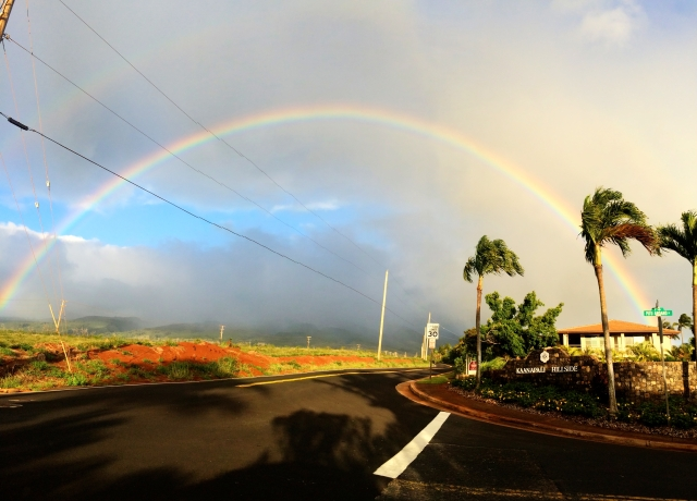 Rainbow over Kaanapali