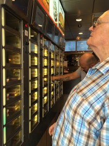 A man makes his selection at Febo