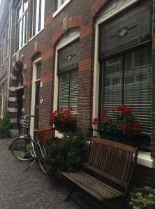 Side street in Amsterdam