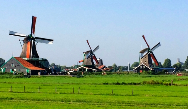 Windmills in Zaans Schans