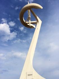 Telecommunications tower designed by Santiago Calatrava
