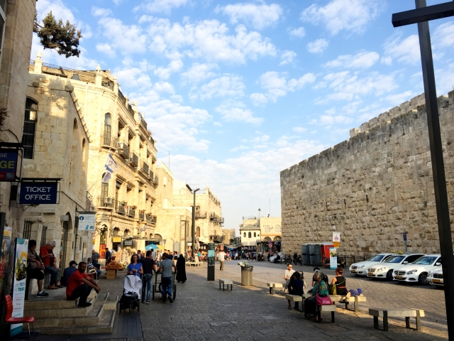 Inside the Old City