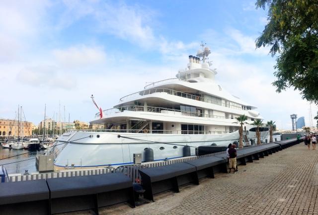 Alberto Bailleres Mayan Queen yacht
