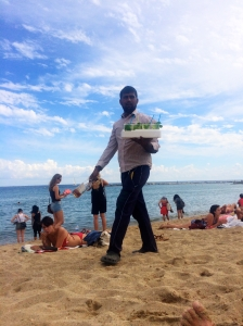 Unsuccessful mojito salesman