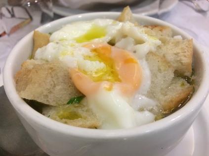 Acorda Alentejana (Portuguese Bread Soup)