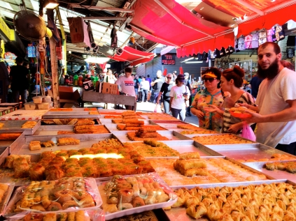 Baklava at Carmel Market