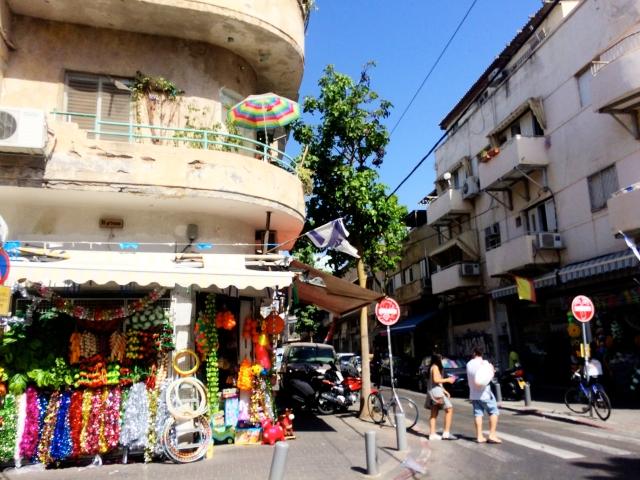 Levinsky market area