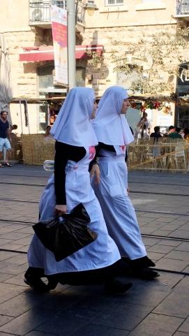 Nuns Jerusalem