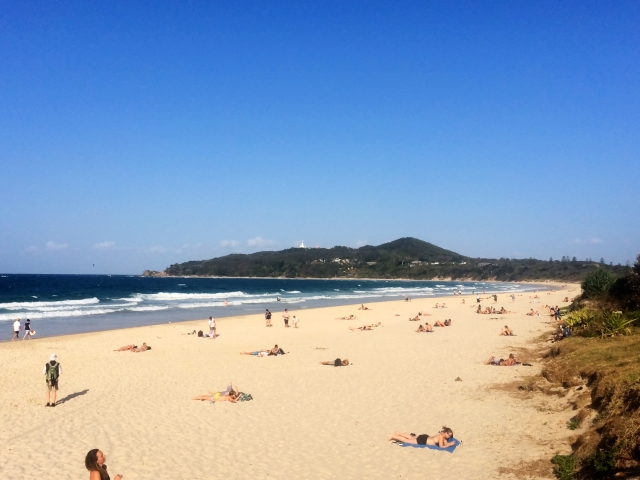 Byron Bay main beach
