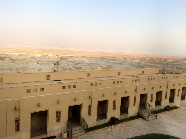 Masada Hostel grounds